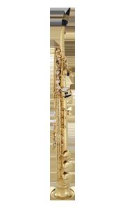 half curved soprano sax