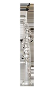 half curved soprano sax  PEARL SILVER